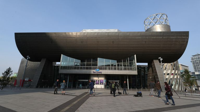 PA - Lowry Theatre, Salford
