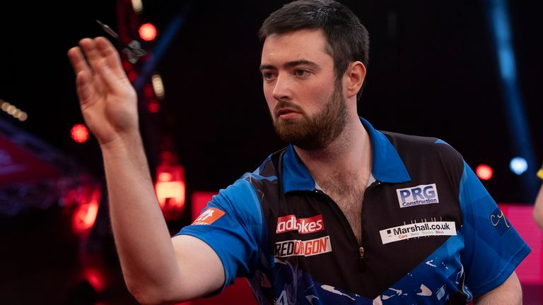Former World Youth champion Luke Humphries is one of seven debutants featuring in this year's showpiece