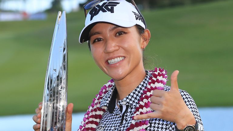 Lydia Ko's victory was her first since April 2018