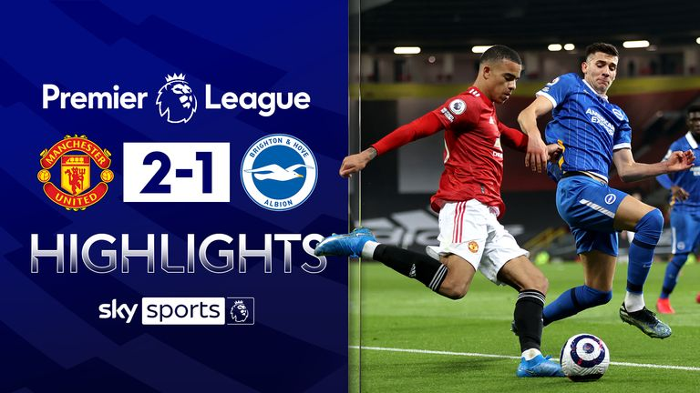 FREE TO WATCH: Highlights from Manchester United's win over Brighton in the Premier League.