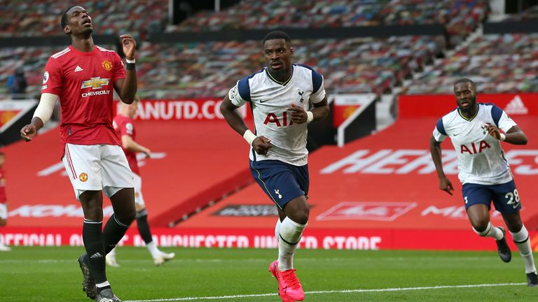 Manchester United lost 6-1 at home to Tottenham in October