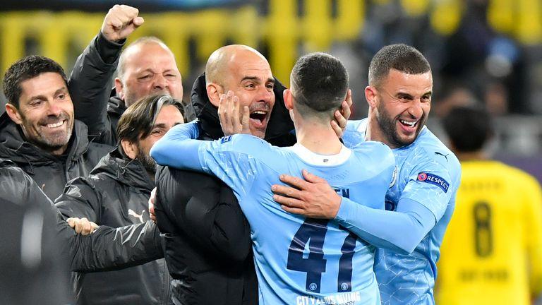 AP - Manchester City celebrate