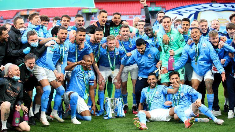 Manchester City are the Premier League champions (2020/2021)