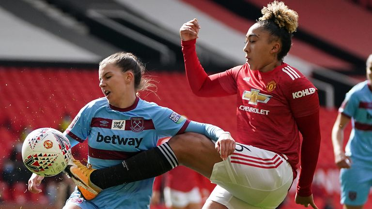Old Trafford hosted its first WSL match last month, with Manchester United beating West Ham 2-0