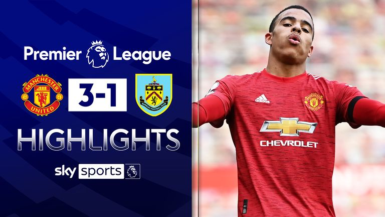 MANCHESTER UNITED 3-1 BURNLEY