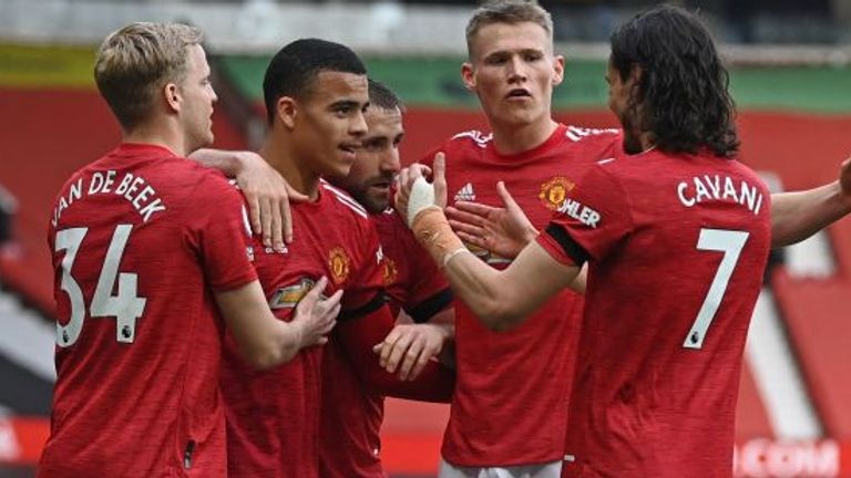 Manchester United face Fulham in their final home game of the season