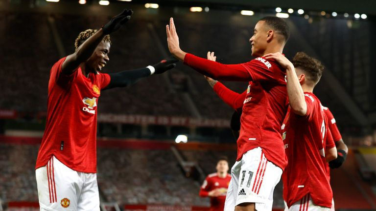 Man Utd have collected 25 points from losing positions this season