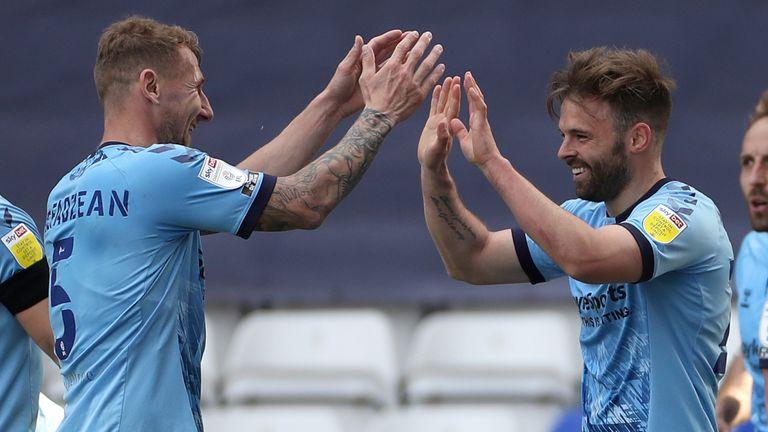 Matt Godden scored the second for Coventry in a 2-0 win over Barnsley