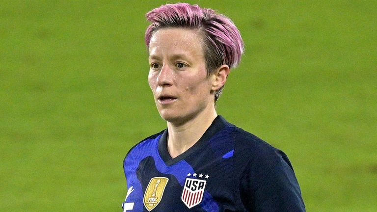 AP - Megan Rapinoe in action for USA