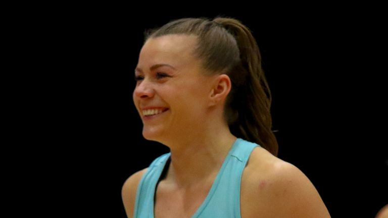 Mikki Austin is relishing another year at the helm at Surrey Storm (Image Credit - Ben Lumley)