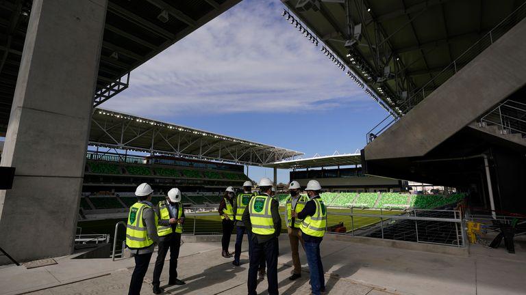 أكمل نادي أوستن لكرة القدم بناء ملعبه الجديد ، ملعب Q2 ، في وقت سابق من هذا العام