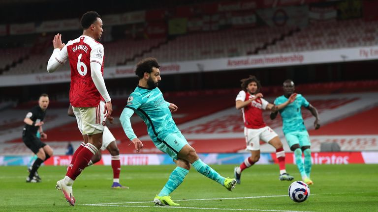 Mohamed Salah doubles Liverpool's lead