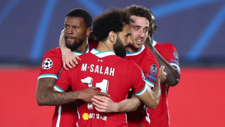 R Madrid 3-1 Liverpool