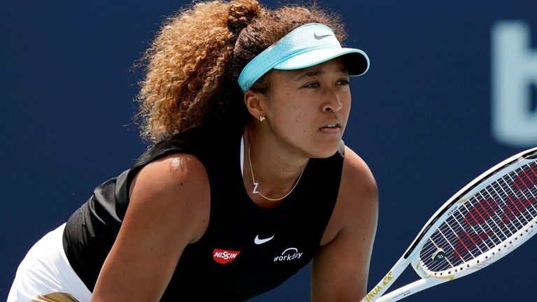 Naomi Osaka was not immediately sure what lessons to take after her 23-match winning streak came to an abrupt end at the Miami Open