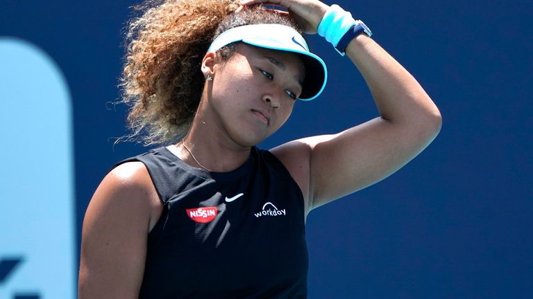 Osaka says she is still trying to find ways to win when not playing at her best