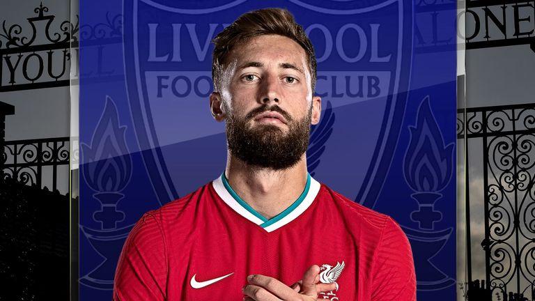 Liverpool defender Nat Phillips