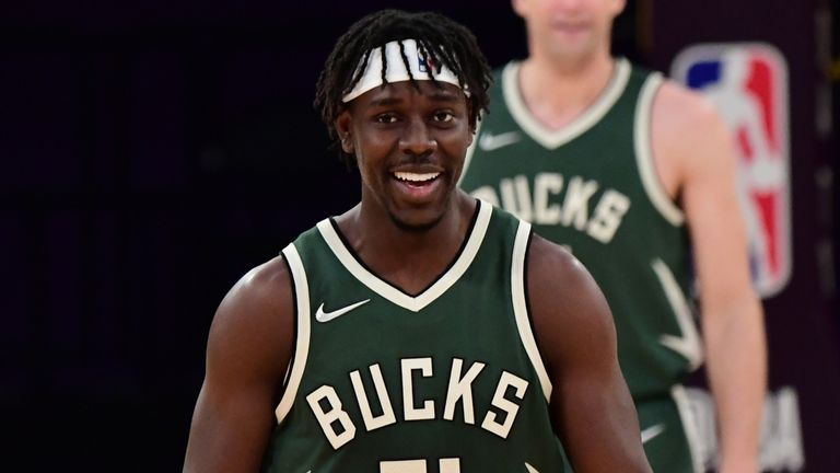 Milwaukee Bucks' Jrue Holiday agrees to four-year extension worth up to $160m   NBA News   Sky Sports
