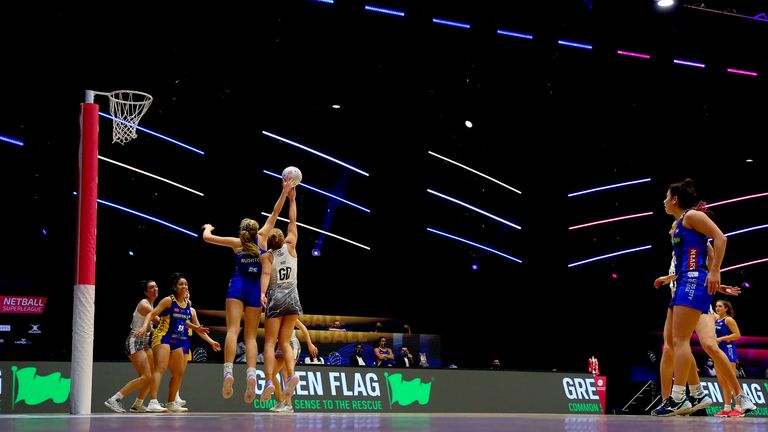 Studio 001 in Wakefield has been an exceptional venue for the Vitality Netball Superleague (Image Credit - Ben Lumley)