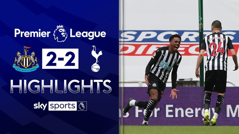 Newcastle 2-2 Tottenham