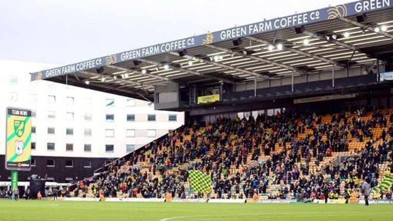 A limited number of supporters were able to watch games in areas of the country less affected by coronavirus cases before Christmas