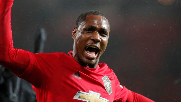 Odion Ighalo: I will always be grateful to the coach, my team-mates, the fans and everyone around Manchester United.