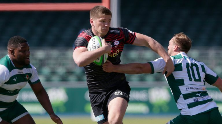 Owen Farrell will be ready for the Springboks, says McCall