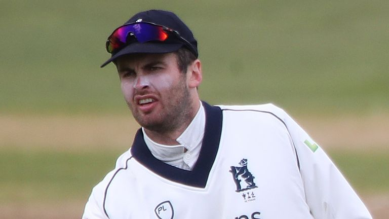 Dom Sibley will miss Warwickshire's County Championship matches against Essex and Durham