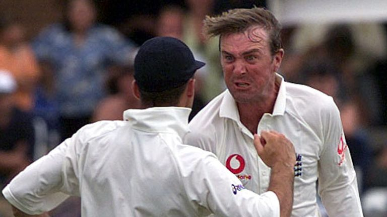 Phil Tufnell took 121 wickets in 42 Tests for England between 1990 and 2001