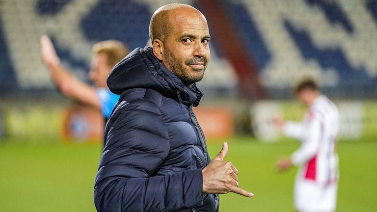 AZ Alkmaar head coach Pascal Jansen