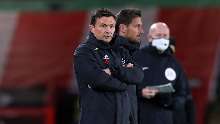 Paul Heckbottom har sett Sheffield United slippe inn 10 mål med ansvar for sine tre Premier League-kamper.