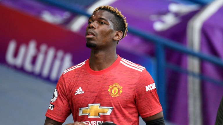 Paul Pogba was only handed a brief cameo during the stalemate