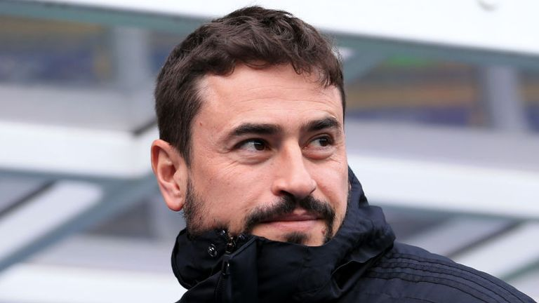 Birmingham City head coach Pep Clotet pictured in March 2020