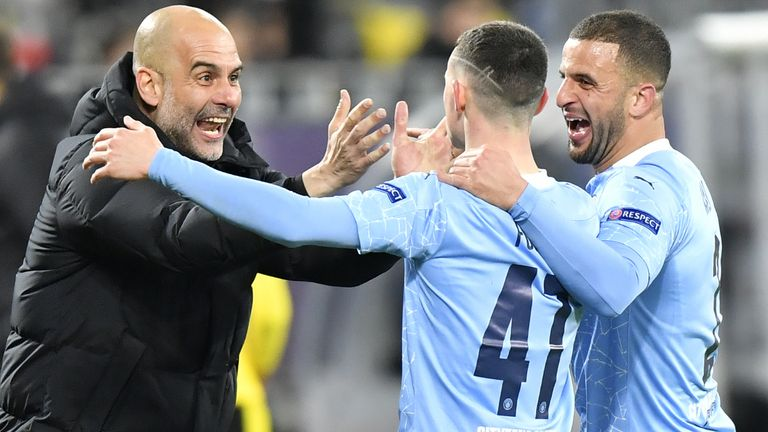 Borussia Dortmund v Manchester City - UEFA Champions League - Quarter Final - Second Leg - Signal Iduna Park