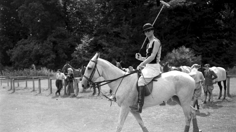 The Duke of Edinburgh was an enthusiastic and talented polo player