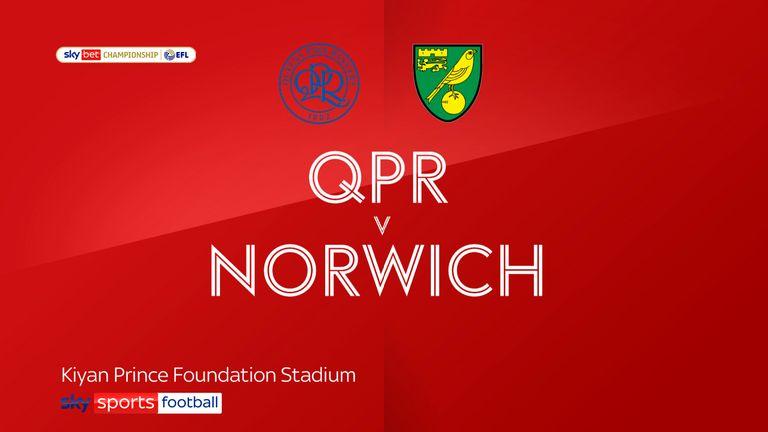 QPR v Norwich badge