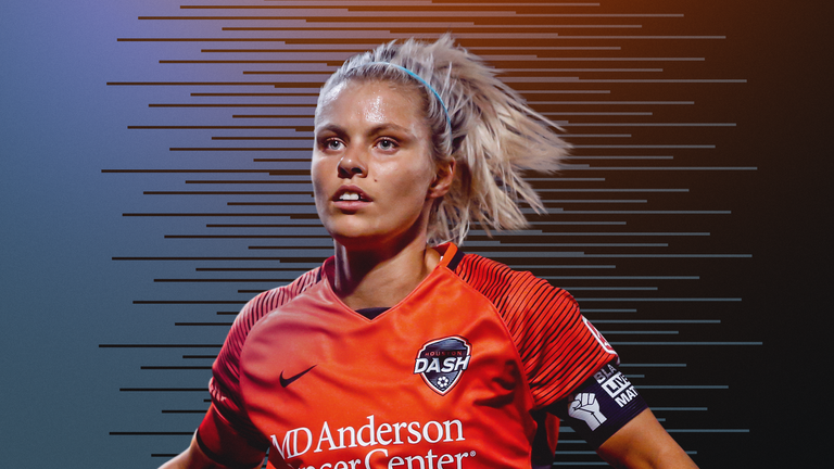 Rachel Daly, NWSL Challenge Cup MVP, is hoping for a season of success both in the States and in Tokyo.