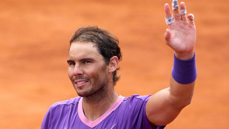 Rafael Nadal made it through to the Barcelona Open final where he will take on Stefanos Tsitsipas