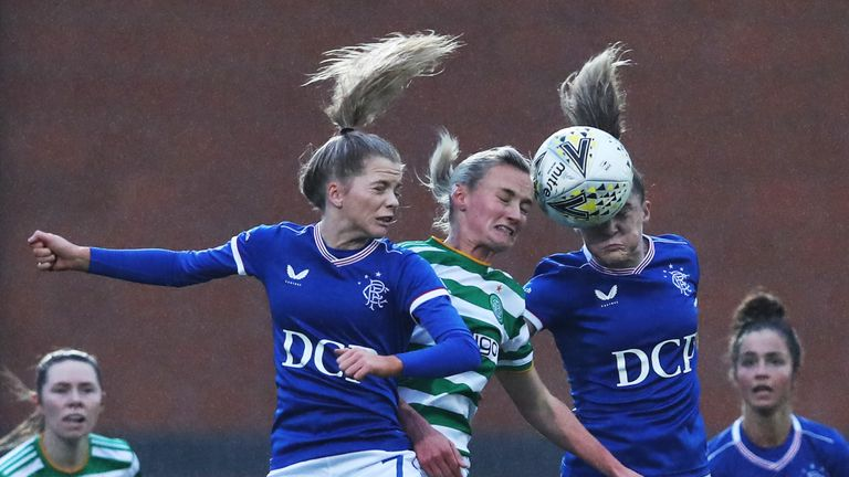 GETTY - Celtic are the only team to have beaten Rangers in the SWPL 1 so far this season
