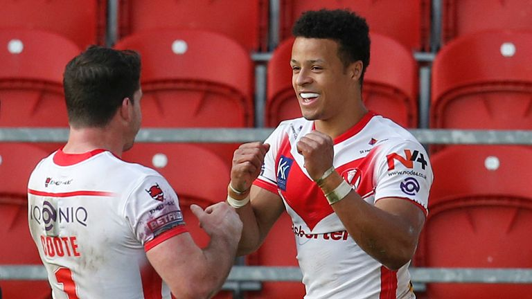 Will St Helens be celebrating again when they face Huddersfield?