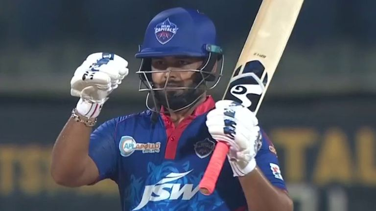 Rishabh Pant steered Delhi Capitals to victory in the Super Over