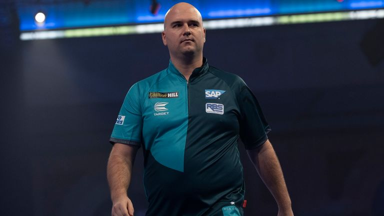 Rob Cross has struggled for form and was eliminated from the Premier League after the first phase last year (Picture: Lawrence Lustig)