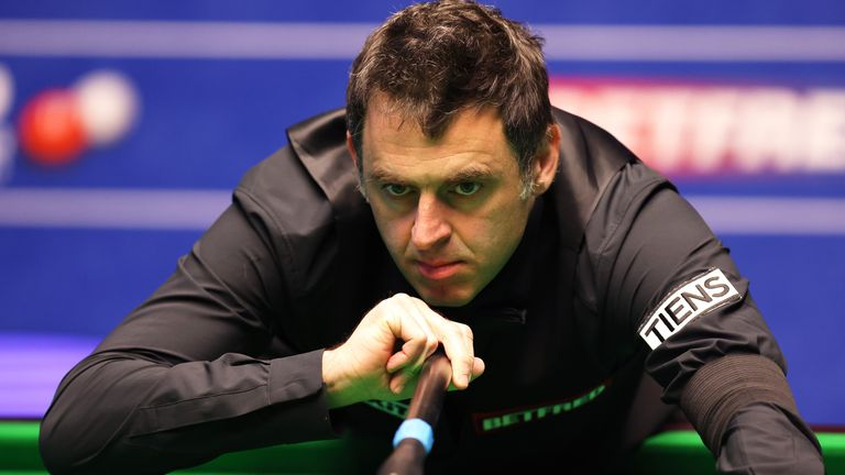 O'Sullivan impressed in his first-round win