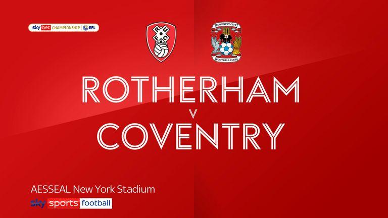 Rotherham v Coventry badge