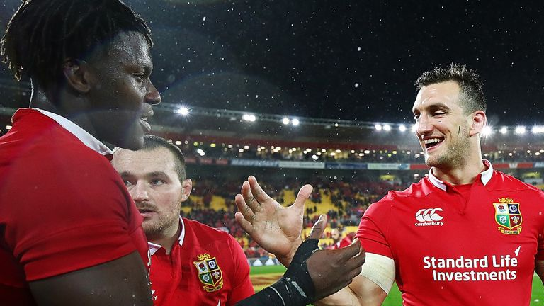 Sam Warburton says Maro Itoje is the leading candidate to succeed him as Lions captain