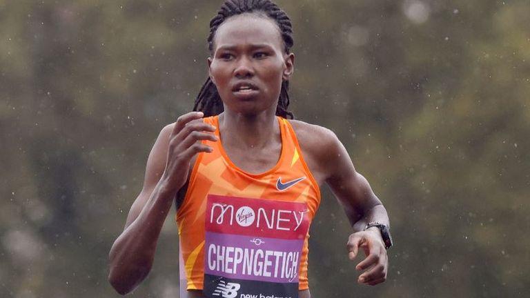 Ruth Chepngetich won the Istanbul Half Marathon by 38 seconds