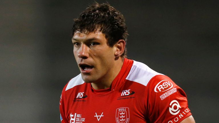 Ryan Hall believes there is plenty more to come from him in a Hull KR shirt