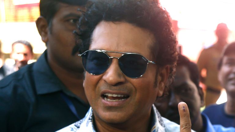 Former cricketer Sachin Tendulkar is continuing his recovery at home