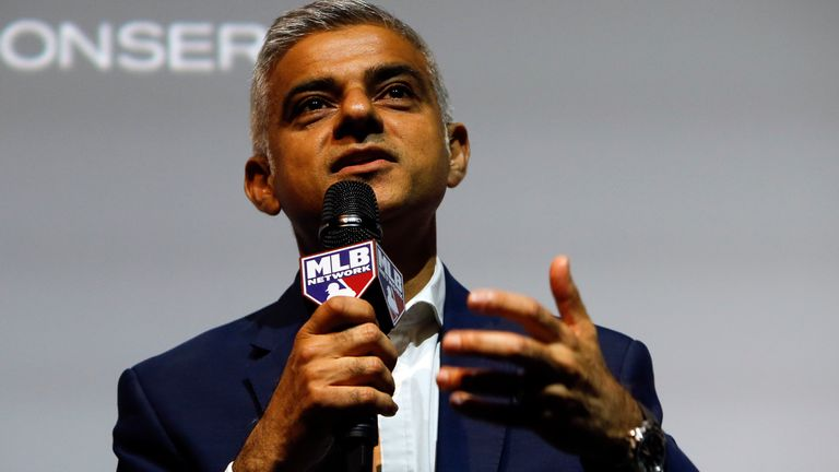 Sadiq Khan says it would be a 'win-win' if London hosted IPL matches