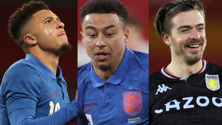AP: Sancho, Lingard and Grealish