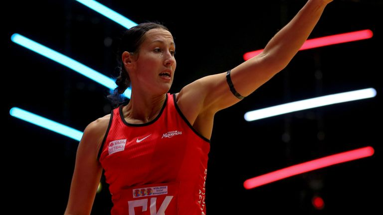 Saracens Mavericks produced their best performance of the season to topple Team Bath Netball (Image Credit - Ben Lumley)